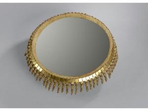 Line VAUTRIN miroir  soleil Talosel, vers 1948