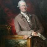 Portrait de James Christie, fondateur de la maison de vente